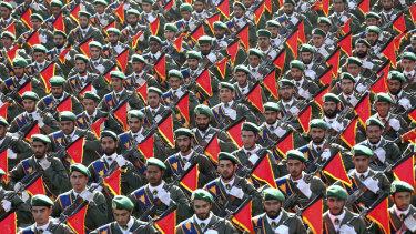 Iran's Revolutionary Guard.