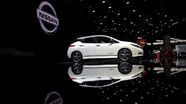 The Nissan Leaf will cost you at least $50,000 in Australia at the moment, but Professor Wills says in three to four years it will be a very different story.