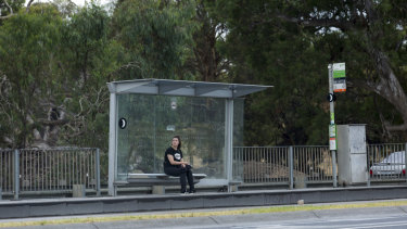 Tram stop 61 on the Route 86 where Aiia Maasarwe is believed to have alighted before her death.