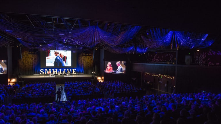 More than 1000 Herald subscribers attended the end of year event at The Star.
