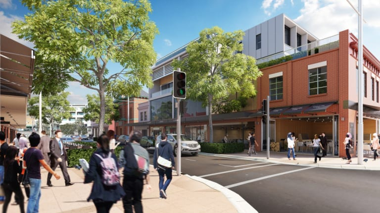 Good Street in Granville ... an artist's impression of how it could look as the Greater Sydney Commission rolls out 32 projects to revitalise the Parramatta Road corridor.