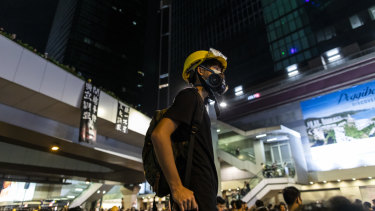 Young and ready for the fight. The Hong Kong protests have a special meaning for students.