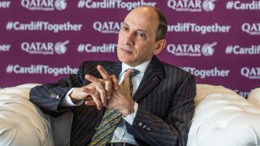 Qatar Airways chief Akbar Al Baker.