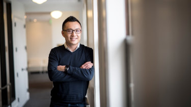Tony Xu, co-founder and chief executive of DoorDash.