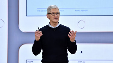 Tim Cook thinks Apple, and its iPad, has an important place in the classroom.