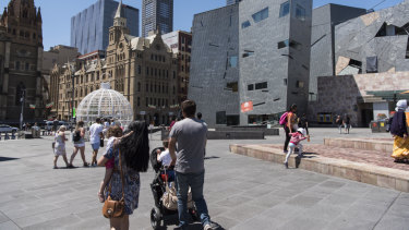 Federation Square is currently required to be commercially viable in its own right.