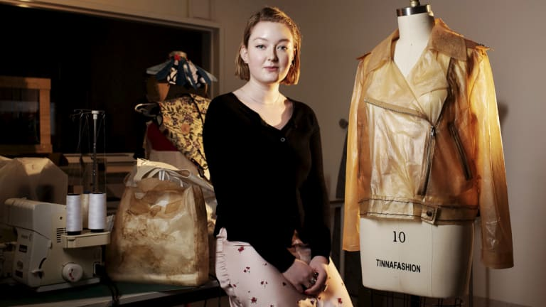 Heather Weir is the youngest ever Australian accepted into the London College of Fashion.