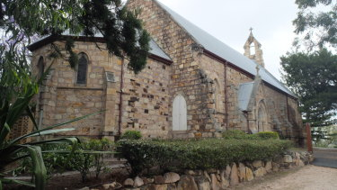 St Mary's church at Kangaroo Point in Brisbane.
