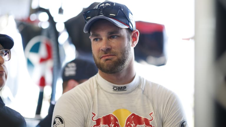 """""""The challenge is going to be tomorrow"""": Shane van Gisbergen."""