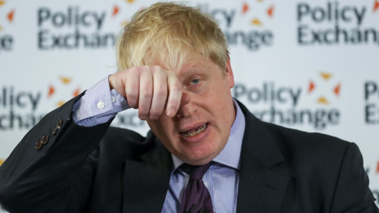 Boris Johnson resigned as British foreign secretary over Brexit.