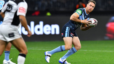 Fittler's selection of James Maloney as the Blues' chief playmaker paid off.