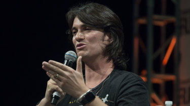 C'mon! WeWork co-founder Adam Neumann has ceded some ground in a bid to salvage his company's embattled sharemarket listing.