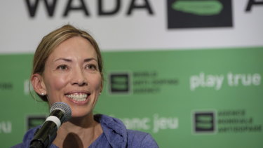 Beckie Scott recently resigned as chair of WADA's athlete committee and publicly revealed the bullying she received from other senior sporting officials on WADA's executive committee.