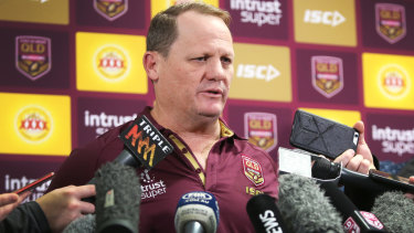 Mind games: Kevin Walters is a lock to deliver some Origin classics to the press.