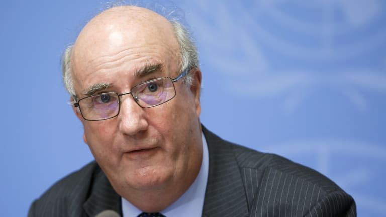 Charles Garraway, member of the Group of Eminent Experts on Yemen.