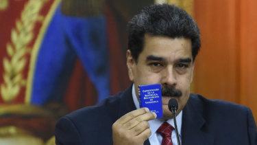 Nicolas Maduro.