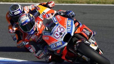 It wasn't to be for Italian Andrea Dovizioso.