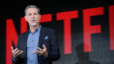Reed Hastings, chief executive of Netflix, says there's enough room for everyone in Hollywood.