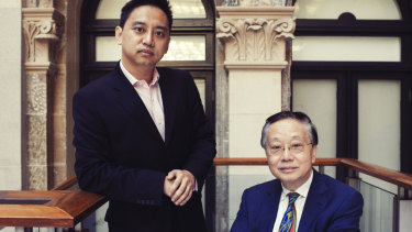 Christopher Lau, founder of eCargo with his father and eCargo's controlling shareholder John Lau.