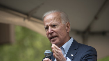 Former vice president Joe Biden called North Korean leader Kim Jong-un a tyrant during a campaign rally.