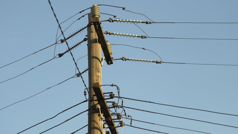 The resident had raised concerns about the hole which was about a metre away from the electricity pole.