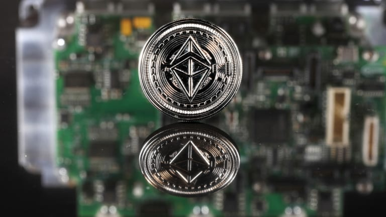 Ether, the cryptocurrency that fuels the Ethereum blockchain, has slumped more than 85 per cent from a January high this year.