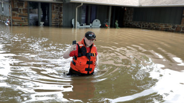 Other parts of Oklahoma, like the San Springs, are already reeling from floods.