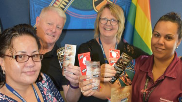 Staff at theMount Isa sexual health clinic provide free condoms and health checks.