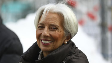 Christine Lagarde will take over from Draghi.