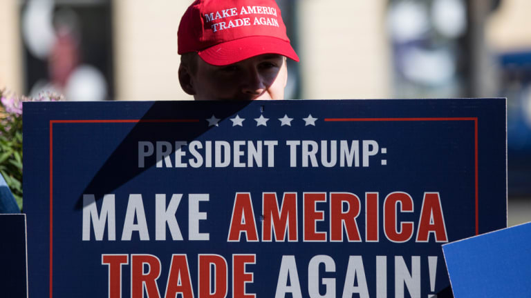 The IMF this week warned the Trump administration's trade policies and its escalating tariff war with China in particular are putting global economic growth at risk.