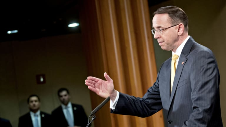 Rod Rosenstein announced in July that 12 Russians were charged with interfering in the 2016 election. The indictment included thinly veiled references to WikiLeaks.