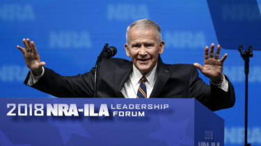New NRA president Oliver North.