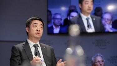 Huawei deputy chairman and rotating chairman Ken Hu.