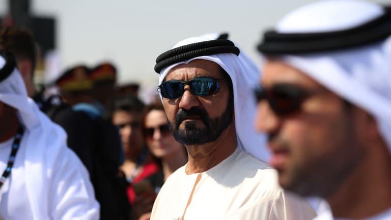 Sheikh Mohammed bin Rashid Al Maktoum, the ruler of Dubai.