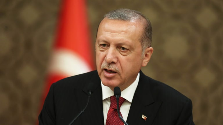 Turkey's President Recep Tayyip Erdogan is not backing down.