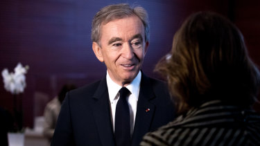 Bernard Arnault's company LVMH owns the likes of Louis Vuitton, Moet & Chandon and Dior.