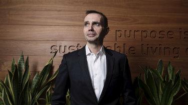 Unilever Australian and NZ CEO Clive Stiff.