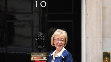 Andrea Leadsom. Will this be her new home?