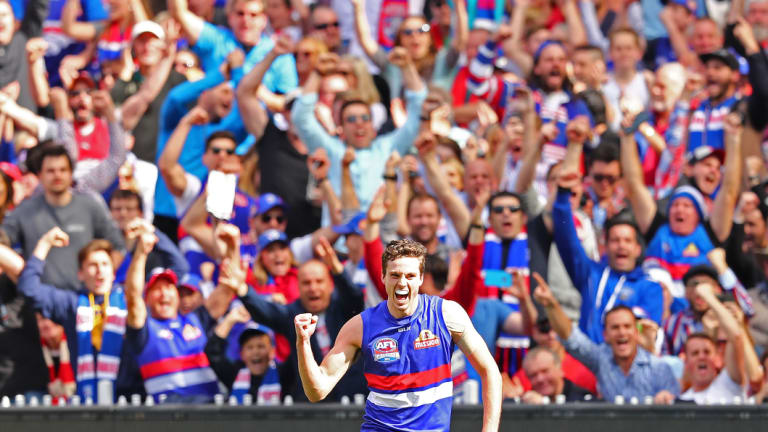 The Bulldogs rode a wave of something indescribable in 2016, captain Robert Murphy has said.