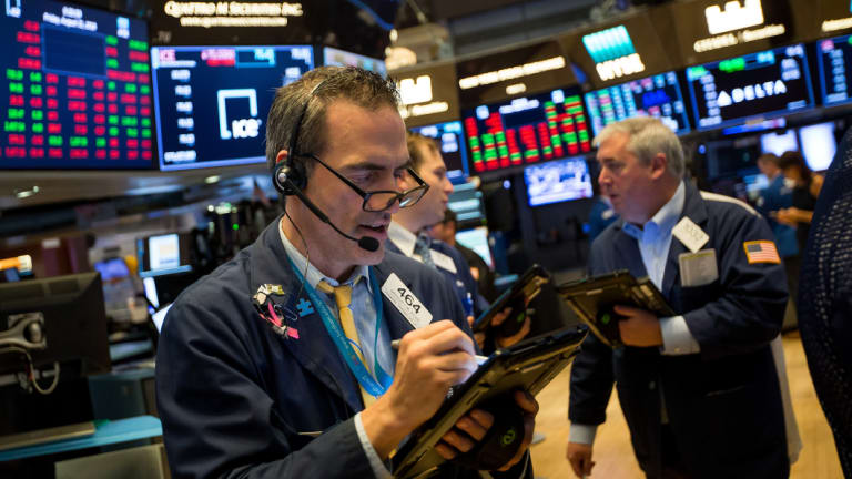Wall Street recorded solid gains across its three major indexes.