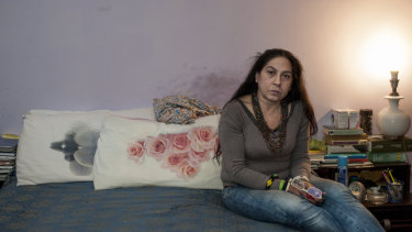 Italian squatter Sabina Aristarco has mixed feelings about migration.