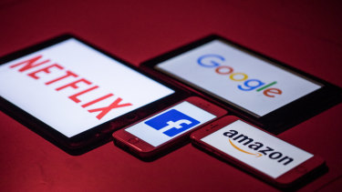 The likes of Facebook, Amazon, Netflix and Google face new taxes.