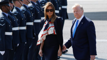 Melania Trump's fashion choices are less sartorial subtlety, more slap in the face.