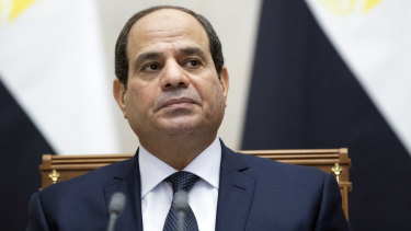 Egyptian President Abdel Fattah el-Sisi.