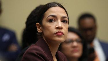 New York City Democrat congresswoman Alexandria Ocasio-Cortez