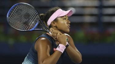 Rising star: Osaka ascended to the summit of women's tennis after winning the Australian Open last month.
