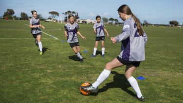 Maribyrnong Swifts have formed a partnership with Melbourne Victory to use the proposed soccer academy.
