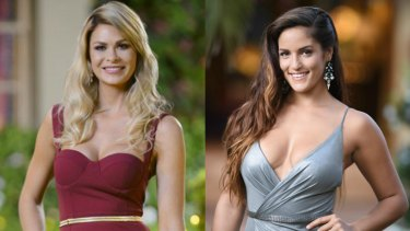 The Bachelor in Paradise stars Megan Marx and Elora Murger.