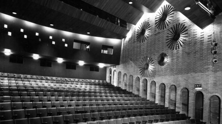 The Schonell Theatre in 1971.