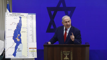 Benjamin Netanyahu said he will annex war-won West Bank territory if he's re-elected, starting with the Jordan Valley.